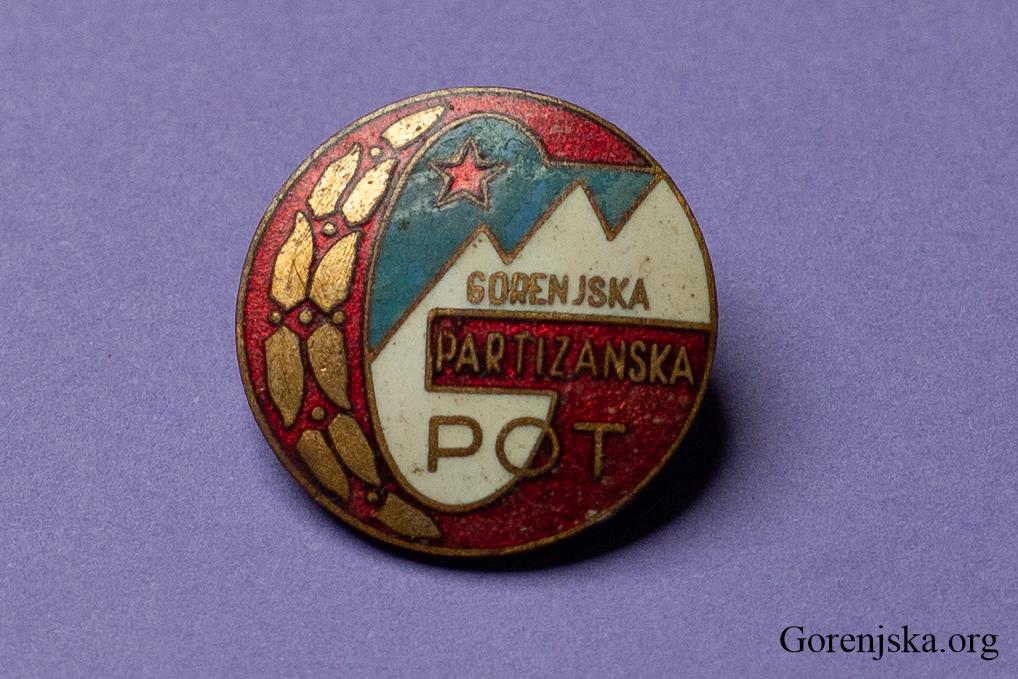 Značka Gorenjska partizanska pot